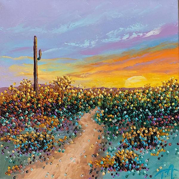 A Desert Soul   Original Oil Painting Art | Tessa Nicole Art