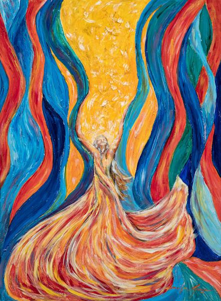 """Aliyahs Ribbons"" Art | glimpsesofglory"