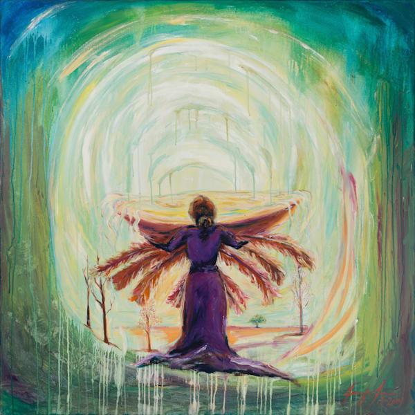 Every Tear Caught Every Prayer Heard Art | glimpsesofglory