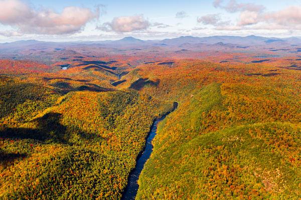 Hudson River. Fall Aerial Photography Art   Kurt Gardner Photogarphy Gallery