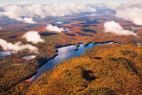 Lake Madeleine Fall Aerial V2 Photography Art   Kurt Gardner Photogarphy Gallery