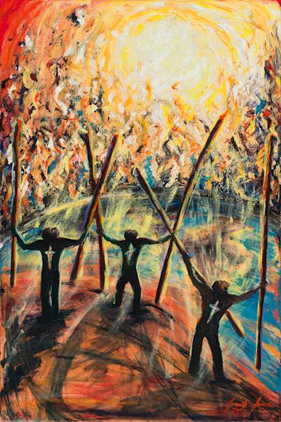 """To The Church Of Thyatira Write"" Art | glimpsesofglory"