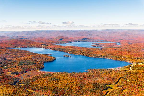 Lake Pleasant Fall Aerial V2 Photography Art | Kurt Gardner Photogarphy Gallery