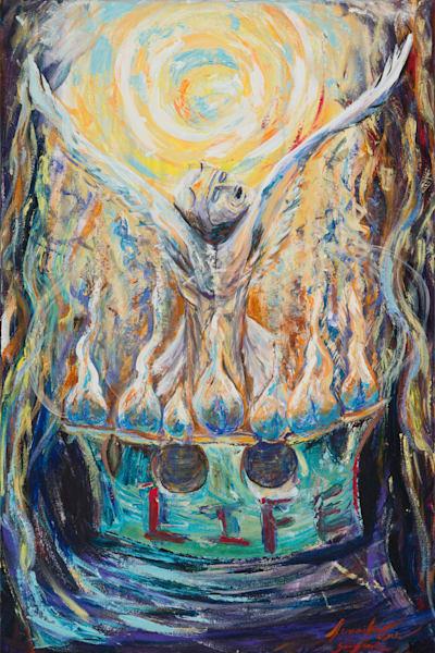 """To The Church Of Smyrna Write"" Art | glimpsesofglory"
