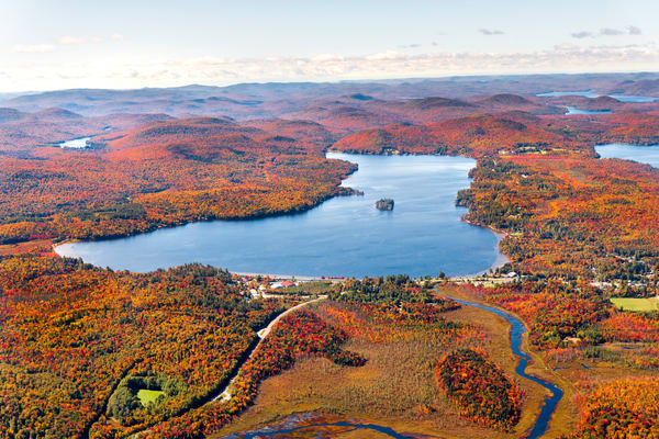 Lake Pleasant Fall Aerial V1 Photography Art   Kurt Gardner Photogarphy Gallery