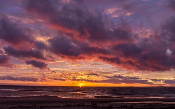 Surprise Sunset Photography Art | The Colors of Chatham