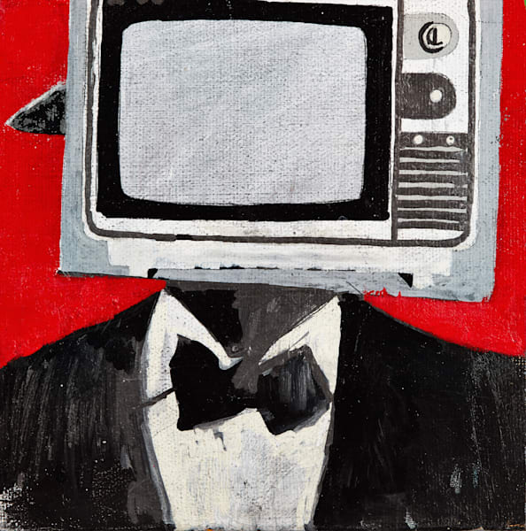 Tv Man Art | Wanderlust in ART