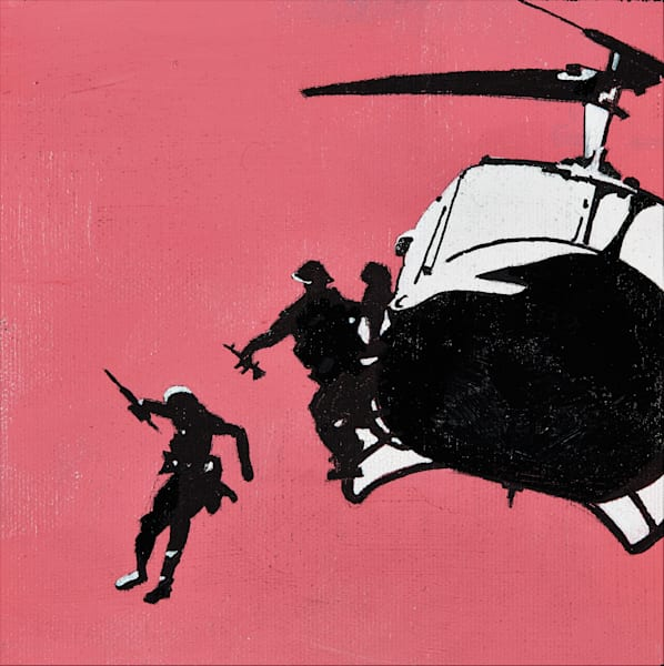 Helicopter Peach Art | Wanderlust in ART