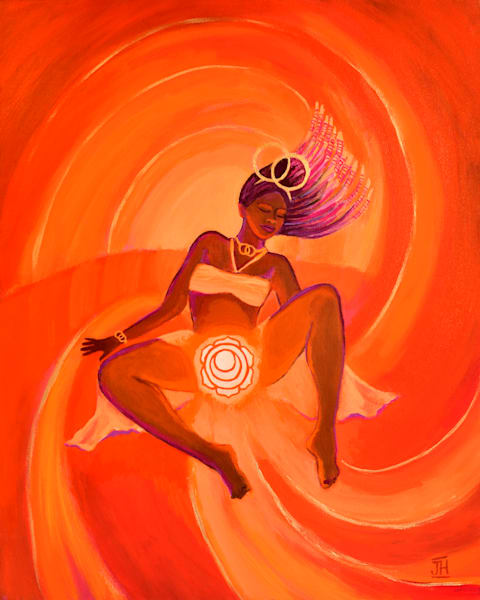 Passionate Queen, art by Jenny Hahn