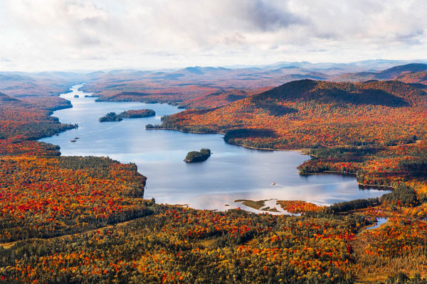 Long Lake Fall Aerial V3 Photography Art   Kurt Gardner Photogarphy Gallery