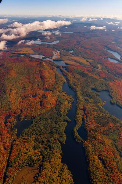 Lows Lake Fall Aerial Vert V2 Photography Art   Kurt Gardner Photogarphy Gallery