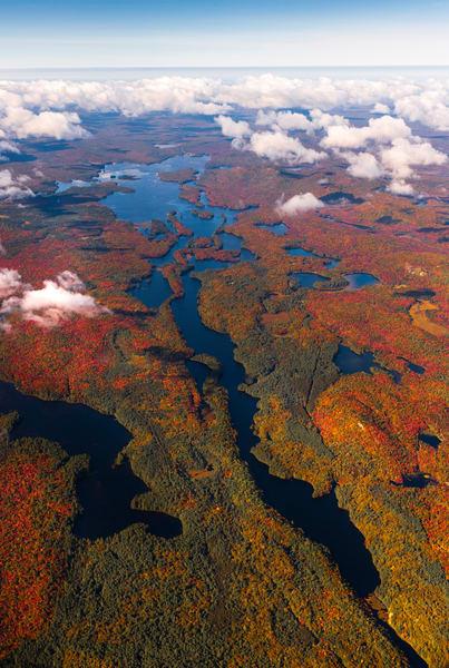 Lows Lake Fall Aerial Vert V1 Photography Art   Kurt Gardner Photogarphy Gallery