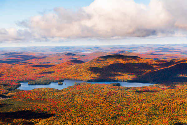 Mc Rorie Lake Fall Aerial Photography Art   Kurt Gardner Photogarphy Gallery