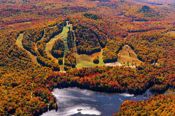 Mc Caulay Mt Falll Arial Photography Art   Kurt Gardner Photogarphy Gallery