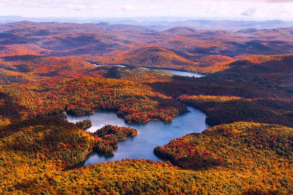 Nine Corners Lake Fall Aerial Photography Art   Kurt Gardner Photogarphy Gallery