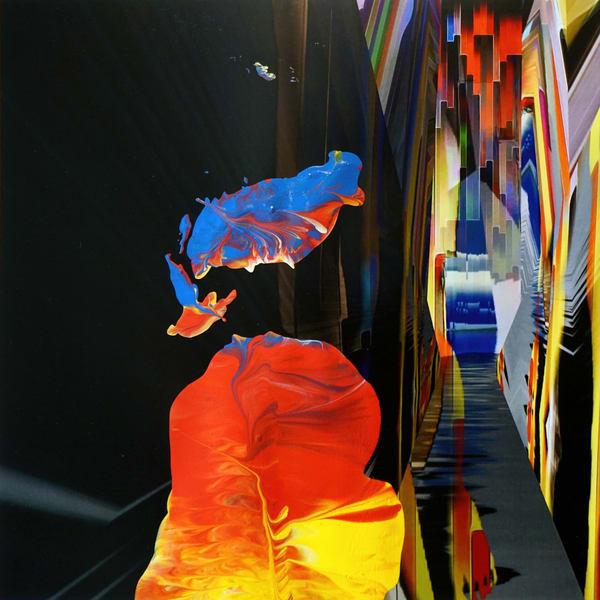 Alien Landing On Earth Art | Maciek Peter Kozlowski Art