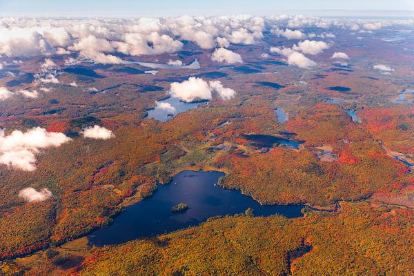 Rock Pond Fall Aerial V1 Photography Art   Kurt Gardner Photogarphy Gallery