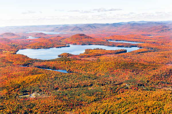 Sagandaga Fawn Lake Fall Aerial Photography Art   Kurt Gardner Photogarphy Gallery