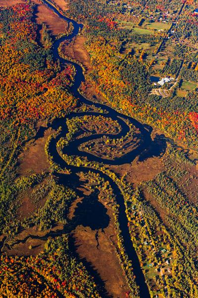 Raquette River Fall Aerial Photography Art   Kurt Gardner Photogarphy Gallery