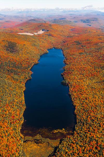 Thirteenth Lake Fall Aerial Photography Art   Kurt Gardner Photogarphy Gallery