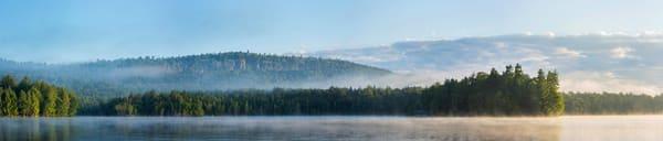 2nd Lake Sunrise Ultra Wide Panoramic Photography Art | Kurt Gardner Photogarphy Gallery
