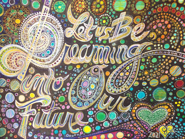Let Us Be Dreaming Art   Cynthia Christensen Art