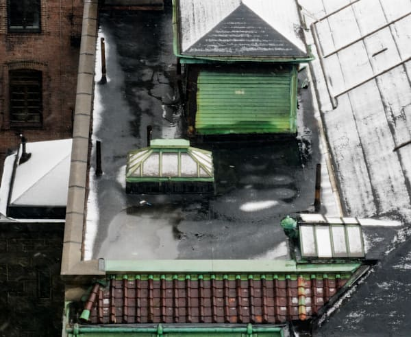 Winter Rooftop, Nyc Photography Art | Ben Asen Photography