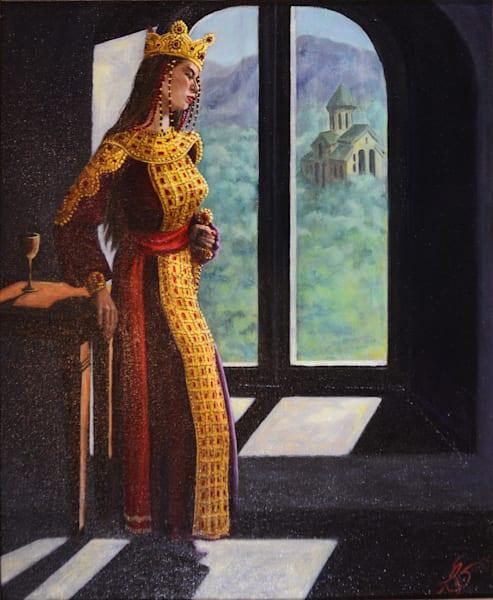 Tamara, King Of Georgia Art | Roxana Sinex Art