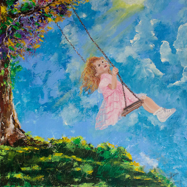 Touch the Sky by Suparna Sain, an Artist from India