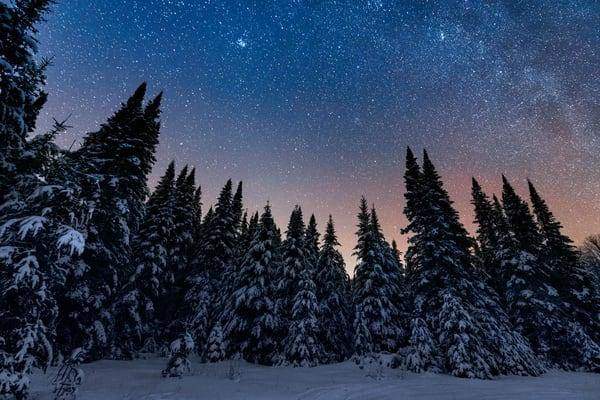 Adirondack Winter Night Photography Art   Kurt Gardner Photogarphy Gallery