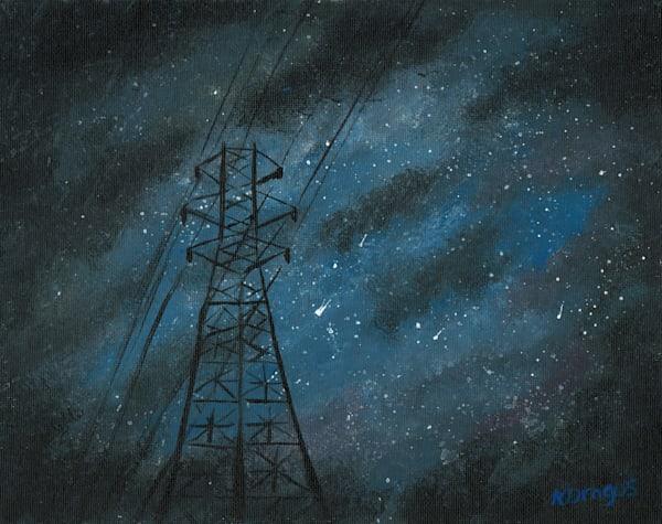 Power of the Sky Acrylic Artwork