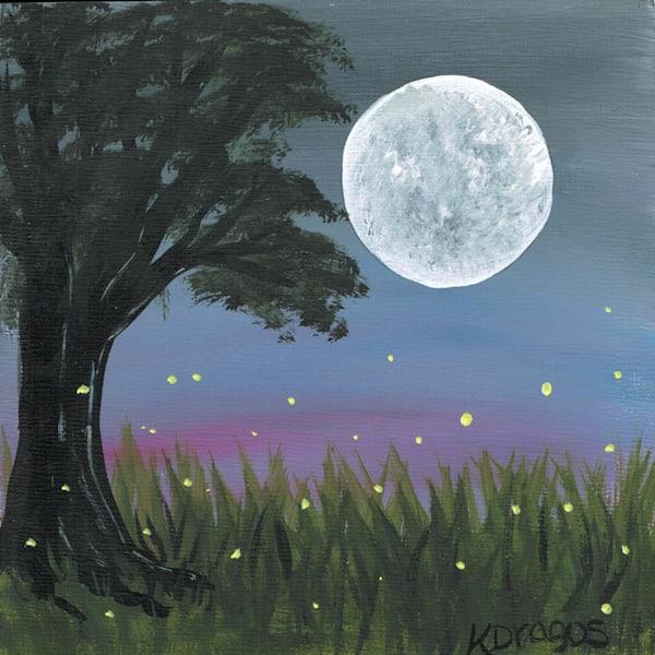 Midwest Fireflies Original Artwork
