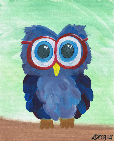Hooo Needs Glasses Acrylic Artwork
