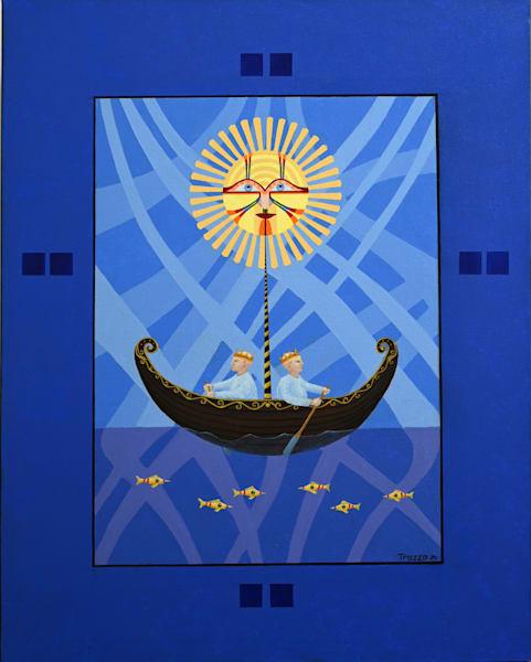 Sunboat Art | Frank Trozzo