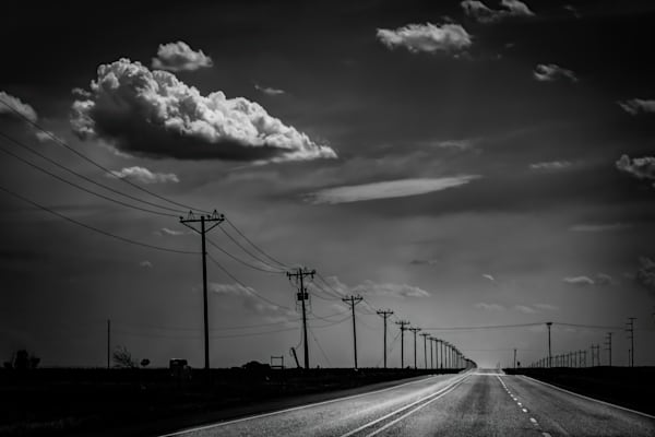 Portrait Of A Cloud In Texas Photography Art | Rinenbach Photography