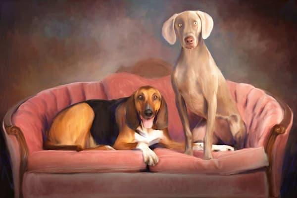 Custom Pet Paintings | Pearl White Studio