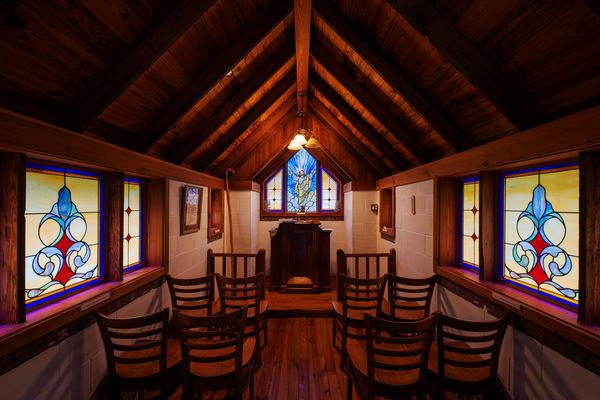 Inside the Smallest Church in America - Georgia fine-art photography prints