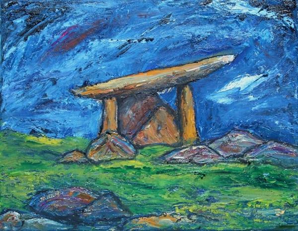 The Dolmen  Original Oil Art | janakastagnaro