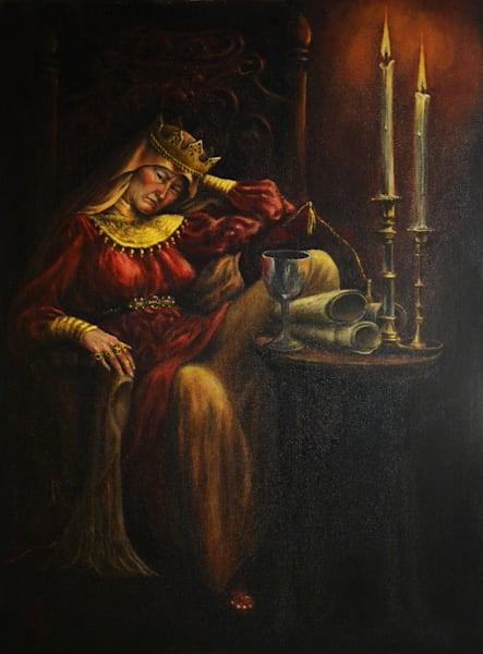 Brunehaut, Queen Of The Franks Art | Roxana Sinex Art