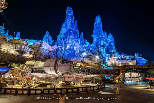 Quiet Nights At Smugglers Run   Star Wars Wall Murals Photography Art   William Drew Photography