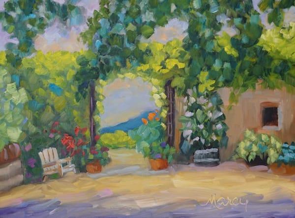 Favarot Winery Art   Marcy Brennan Art