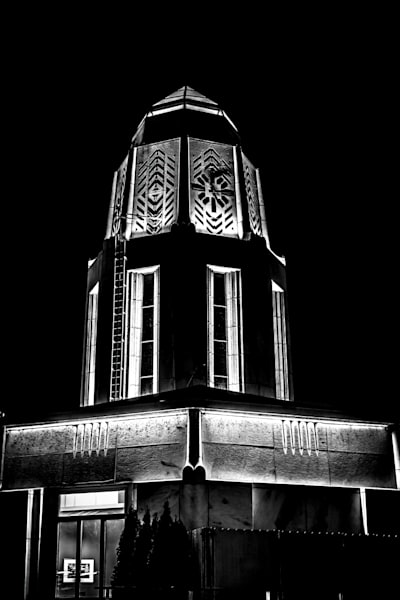 Chrome Tower.  St. Charles, Il Photography Art | Rinenbach Photography