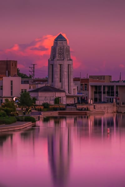 Saturated Skies In St. Charles Photography Art | Rinenbach Photography