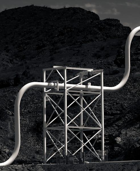 Water Pipe Lake Havasu Photography Art | Dan Katz, Inc.