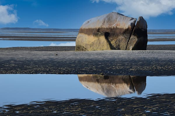 Rock Harbor Reflection Photography Art | The Colors of Chatham