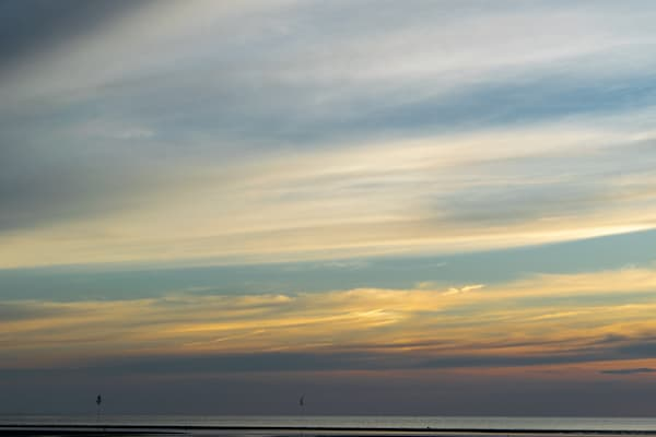 Pastel Sky At Rock Harbor Photography Art | The Colors of Chatham
