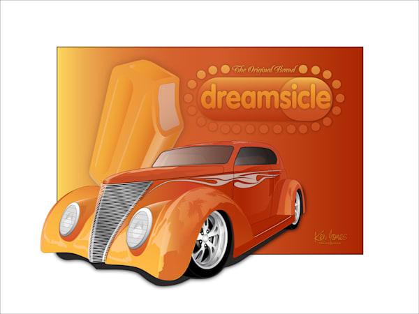 Ford Dreamsicle Poster Art | Ken Jones Graphics