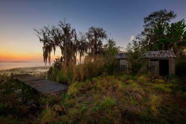 Sunrise at the Camp - Florida fine-art photography prints
