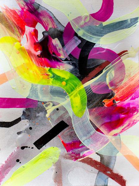 80s Girl Art | Makiko Harris Art