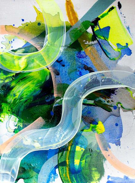 Glowing Moss Art | Makiko Harris Art